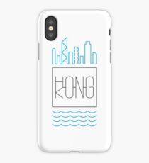 Hong Kong - City Skyline colour iPhone Case/Skin