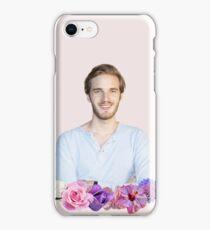 PEWDIEPIE - FLOWER BORDER iPhone Case/Skin