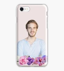 PEWDIEPIE - FLOWER BORDER iPhone Case/Skin
