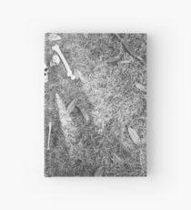 Halloween - Skulls on the ground Hardcover Journal