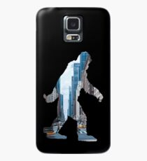 A Sasquatch Silhouette in New York City Case/Skin for Samsung Galaxy