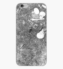 Halloween - Skulls on the ground iPhone Case