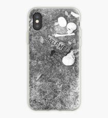 Halloween - Skulls on the ground iPhone Case