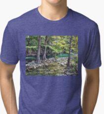 Cypress Trees Tri-blend T-Shirt