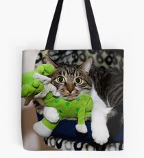 Chin Rest Tote Bag