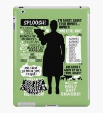 Archer - Pam Poovey Quotes iPad Case/Skin