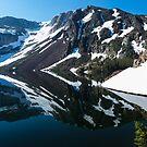 Upper Yosemite, Lake Reflection by photosbyflood