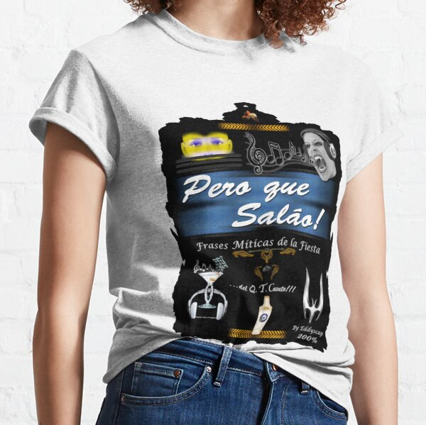 002aFrases-art-eddyscap Camiseta clásica