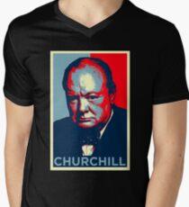 cool britian Men's V-Neck T-Shirt