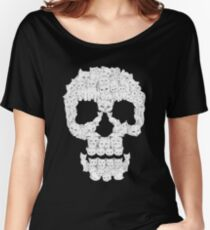 Skulls are for Pussies T-Shirt Women's Relaxed Fit T-Shirt