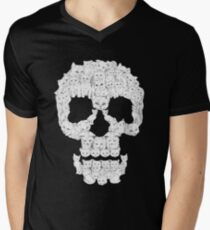 Skulls are for Pussies T-Shirt Men's V-Neck T-Shirt
