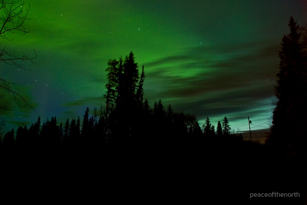 Early Morning Auroras #2 by peaceofthenorth