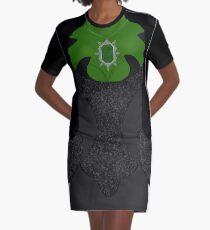 Zelena Shirt Graphic T-Shirt Dress