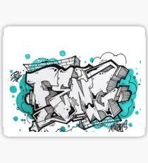 Cool graffiti Sticker