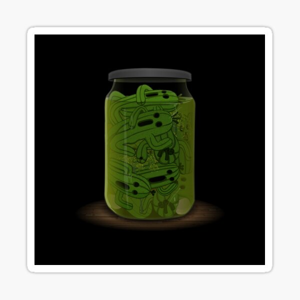 Pickled Cactuar Sticker