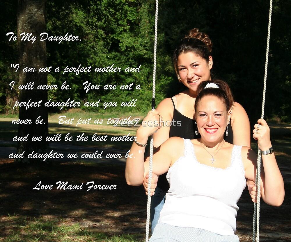 Mother and daughter by ZeeZeeshots