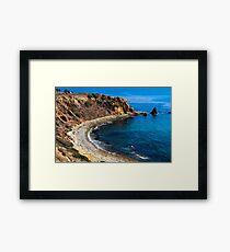 Pelican Cove Framed Print