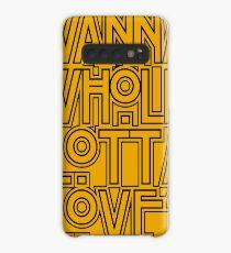 Wanna Whole Lotta Love Case/Skin for Samsung Galaxy