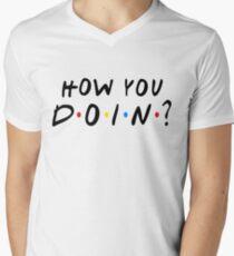 How You Doin? Men's V-Neck T-Shirt