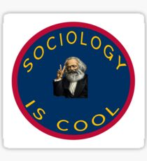 Sociology is cool Sticker