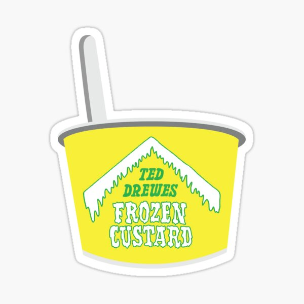 Ted Drewes Pegatina