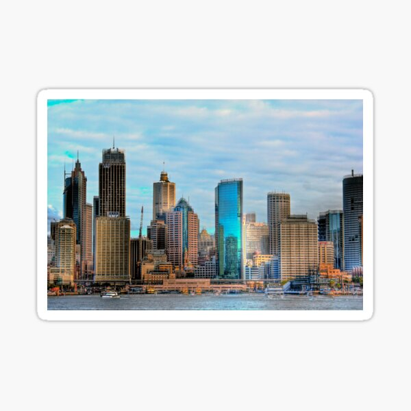 The City of Sydney Sticker