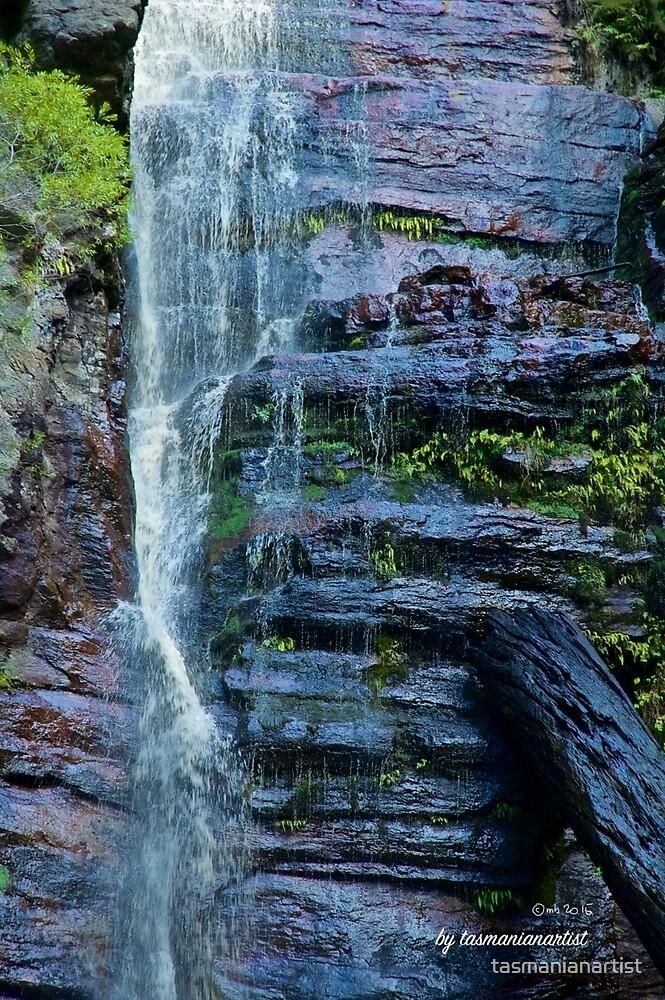 SCENES & SCENERY ~ Waterfall by tasmanianartist by tasmanianartist