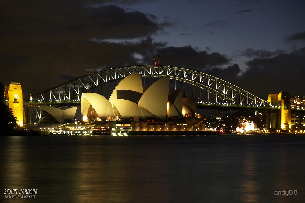 Sydney Harbour Bridge by andy88