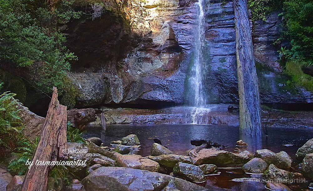 SCENES & SCENERY ~ Cool Pond by tasmanianartist by tasmanianartist