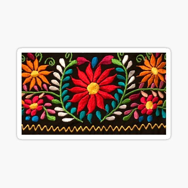 Spanish Flowers Sticker