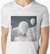 Light Headed Men's V-Neck T-Shirt