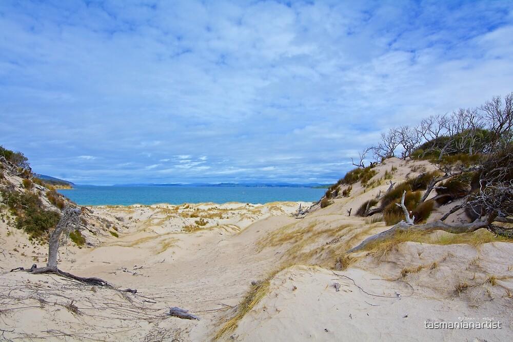 TASMAN PENISULA ~ Lagoon Beach Revisited by tasmanianartist by tasmanianartist
