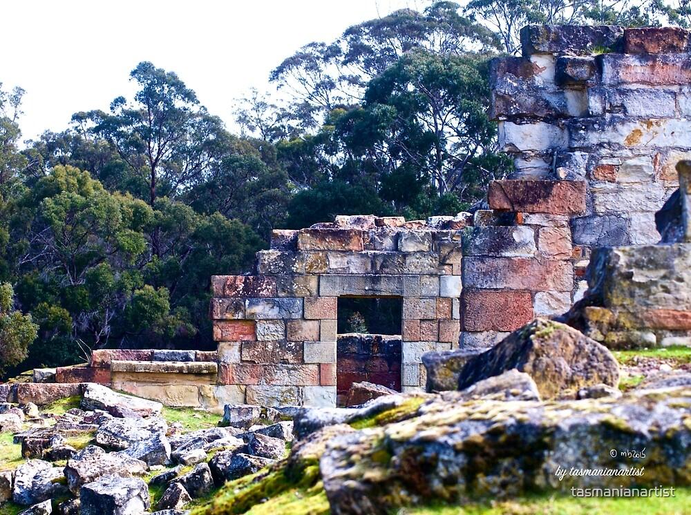 TASMAN PENINSULA ~ HAUNTING ECHOES ~ The Coal Mines 11 by tasmanianartist by tasmanianartist