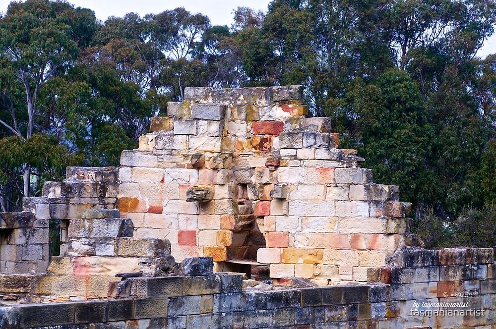 TASMAN PENINSULA ~ HAUNTING ECHOES ~ The Coal Mines 15 by tasmanianartist by tasmanianartist