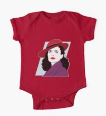 Red Hat Female One Piece - Short Sleeve
