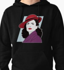 Red Hat Female Pullover Hoodie