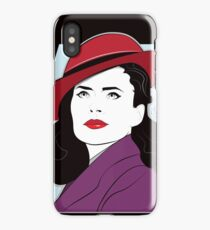 Red Hat Female iPhone Case