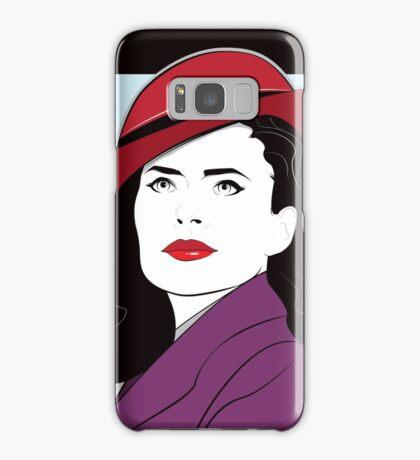Red Hat Female Samsung Galaxy Case/Skin