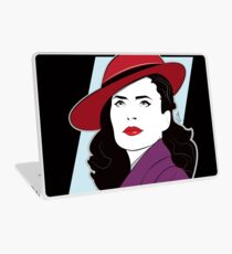 Red Hat Female Laptop Skin