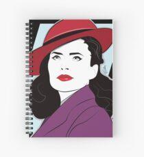 Red Hat Female Spiral Notebook
