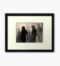 Raining Fun Framed Print