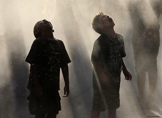 Raining Fun by Sue  Cullumber