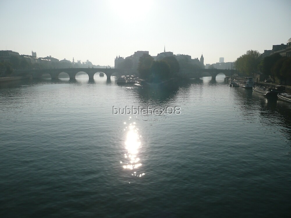Morning on the Seine by bubblehex08