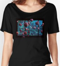 Curved Space Women's Relaxed Fit T-Shirt