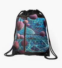 Curved Space Drawstring Bag