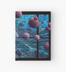 Curved Space Hardcover Journal