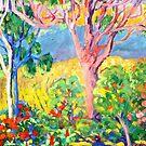 Ray's Pink Tree by Virginia McGowan