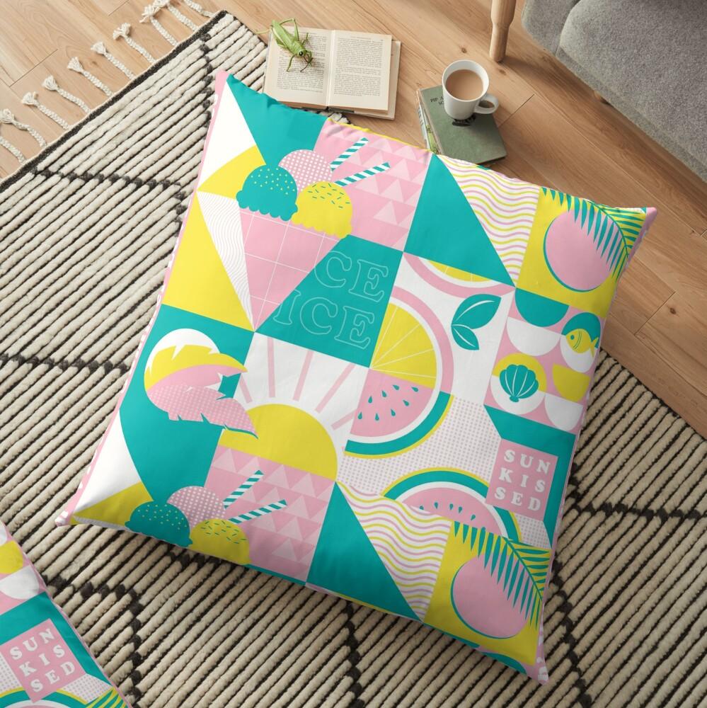 Summer Lovin' Vibes Floor Pillow