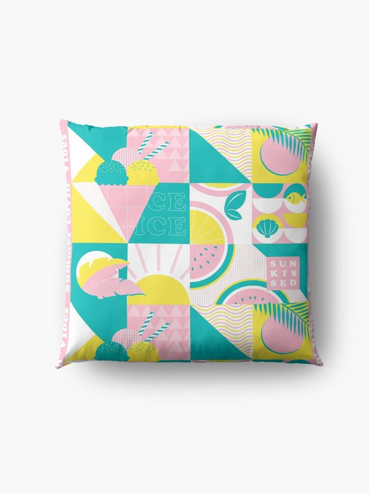 Alternate view of Summer Lovin' Vibes Floor Pillow