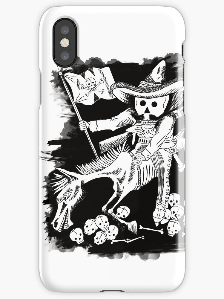 Day of the Dead Zapata - Dia de los muertos by cynthia cabello